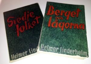 Bild på två bokomslag